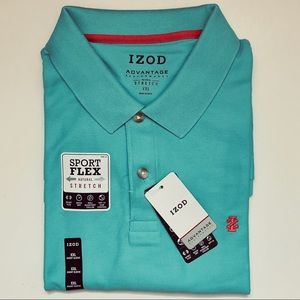 IZOD Advantage Performance Stretch Polo Shirt
